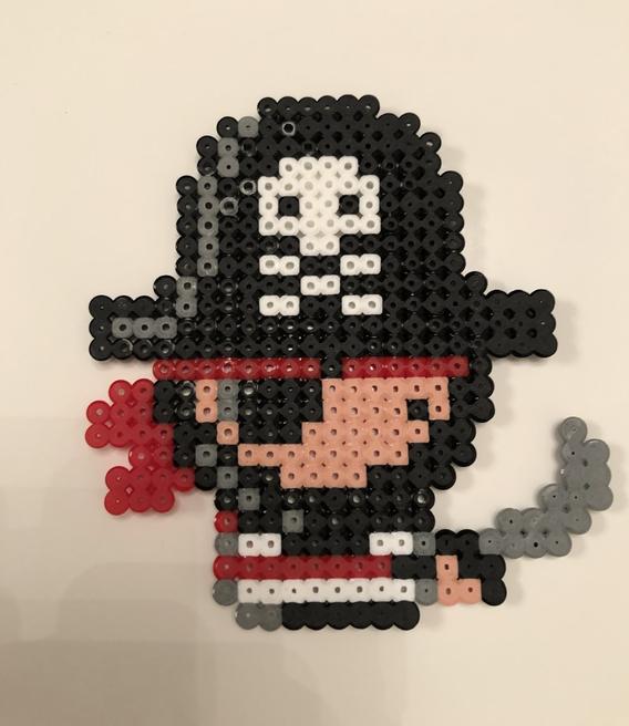 Bella's Hama bead pirate