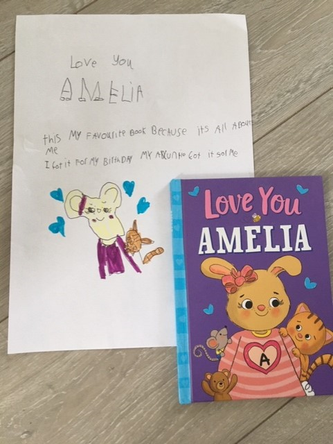 Amelia's favoruite book