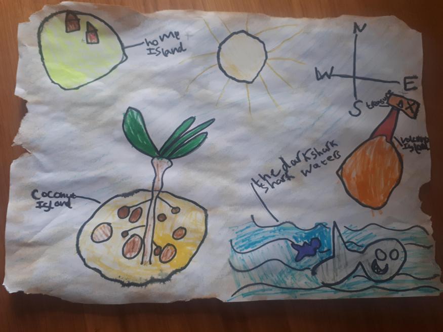 Maia's treasure map
