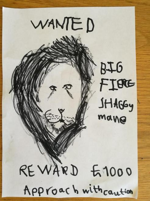 Ethan's wanted poster