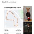 Charlie's fundraising 5km run