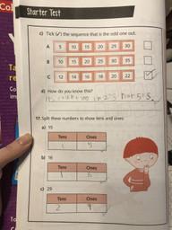 Spencer C's maths work