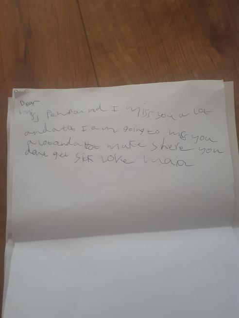 Maia's writing