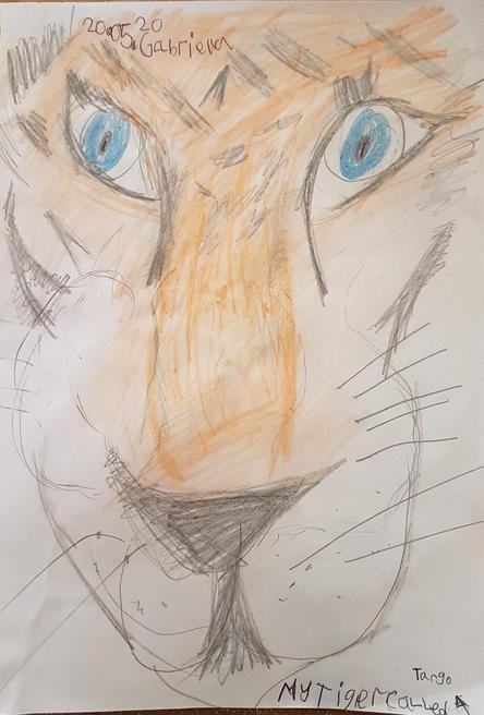 Gabriella's tiger