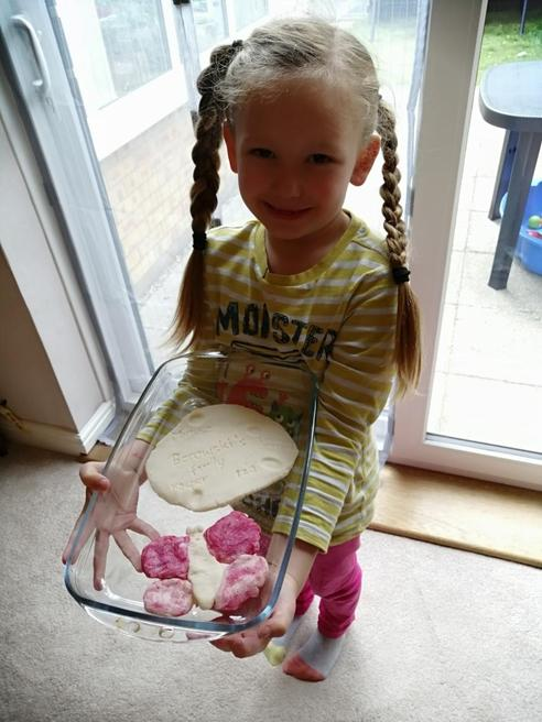 Salt dough making