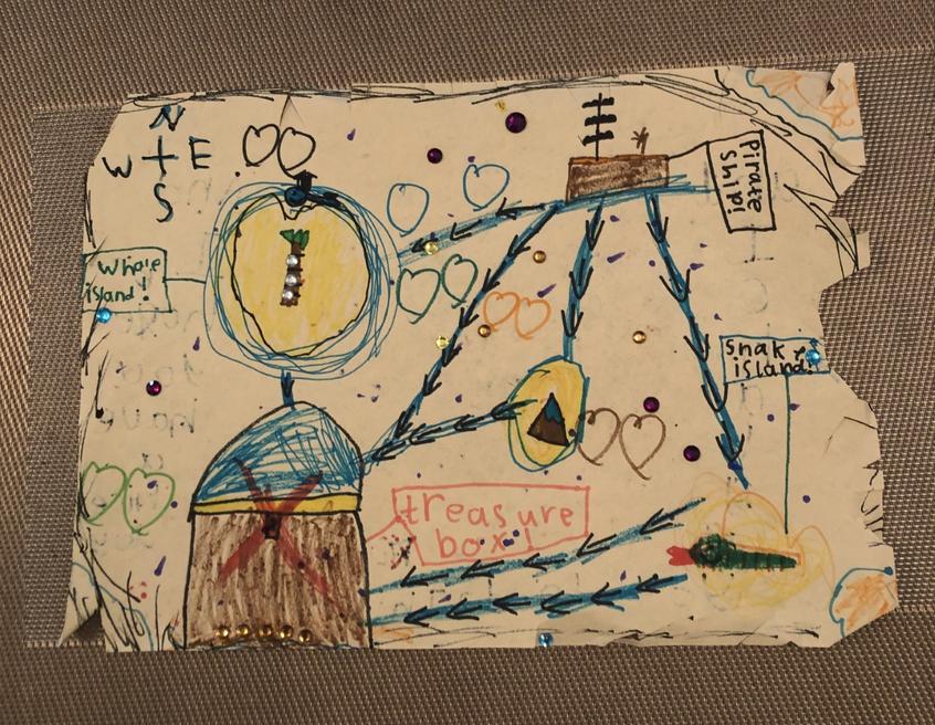 Bella's treasure map