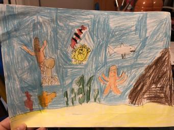Spencer's art work