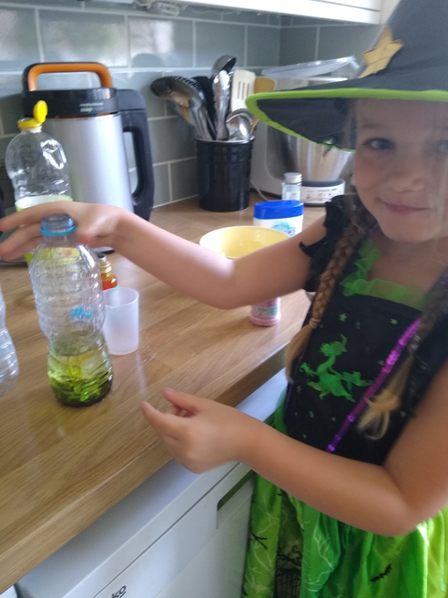 Sofia potion making
