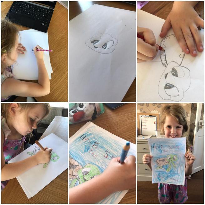 Pippa's fantastic drawings
