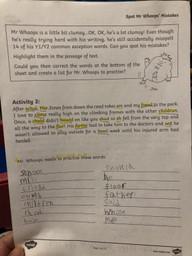 Spencer's spelling fix work