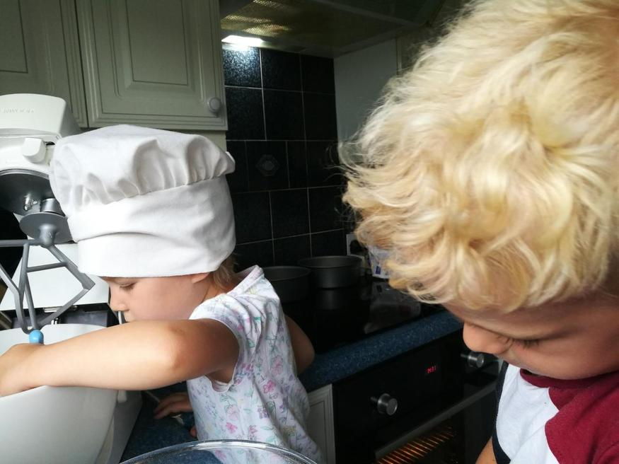 Ethan cooking