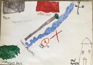 Amelia's treasure map