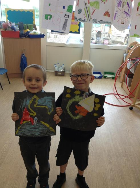 Creating our own space pictures