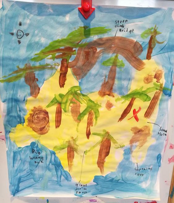 Ethan's treasure map