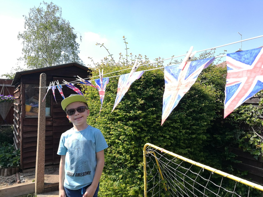 Ethan VE Day celebrations