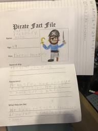 Spencer C pirate fact file