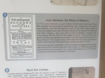 Lilly's research on her witch hunt