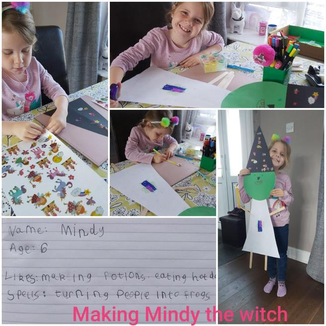 Mindy the witch