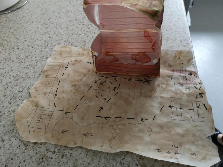 Olly's treasure map