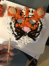 Spencer C tiger mask