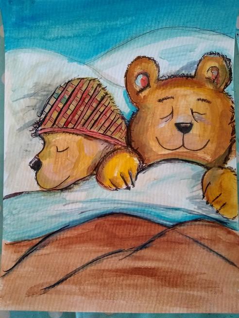 Emma's (Sofia's mum) painting