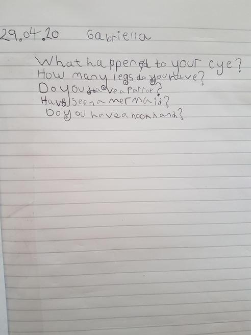 Gabriella's questions
