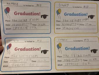 Spencer's invitations