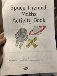 Spencer's maths work