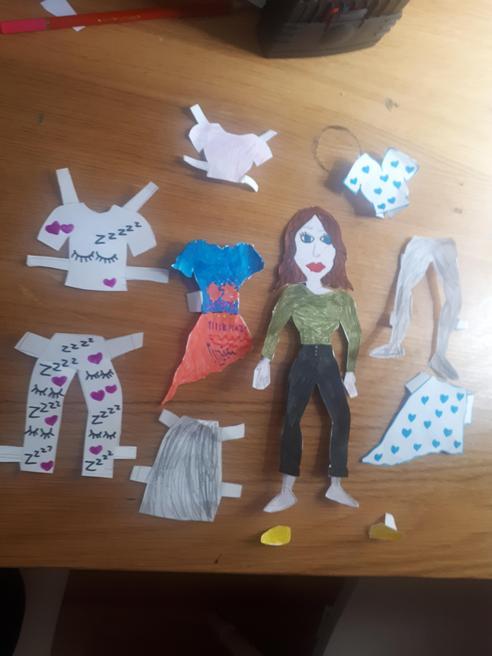 Maia's fashion designs