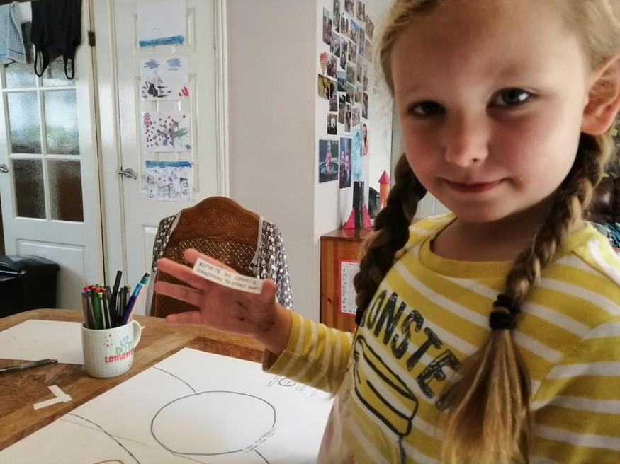 Emilia's work on the solar system