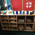 Writing resource area.