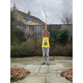 Raif's 'weather wand'!