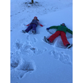 ...and snow angels!