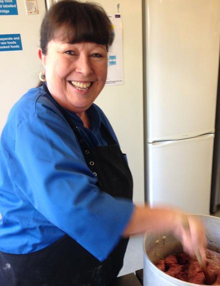 Mrs Hazelden - Catering Manager