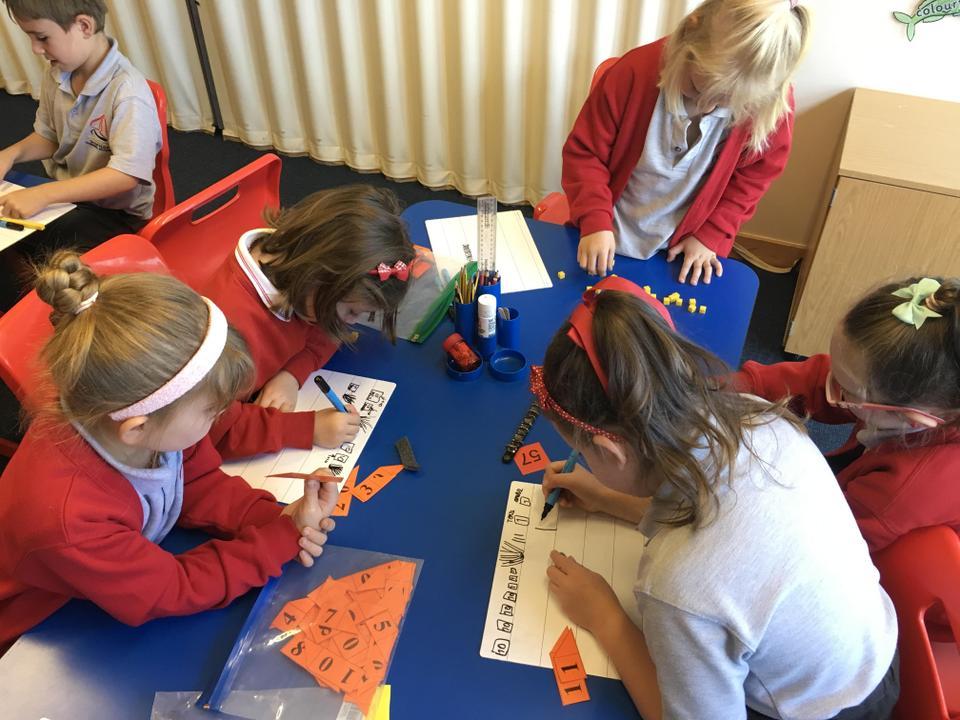 Solving mathematical number sentences