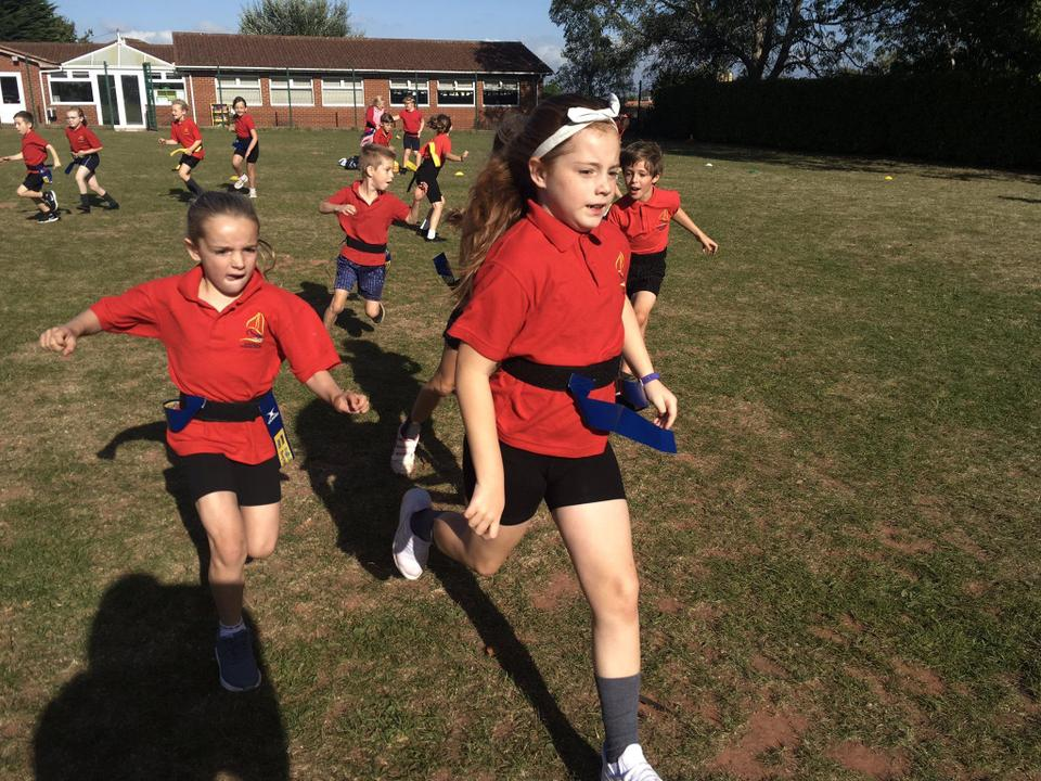 Learning Tag Rugby skills