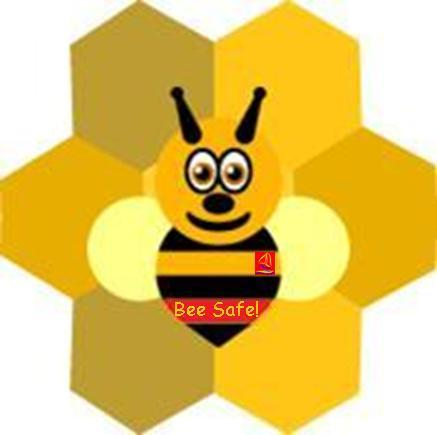 Meet Berty our Bee-Safe Bee, our Online Safety mascot!