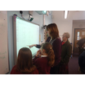 Mrs Bambrick explains some Flowol instructions