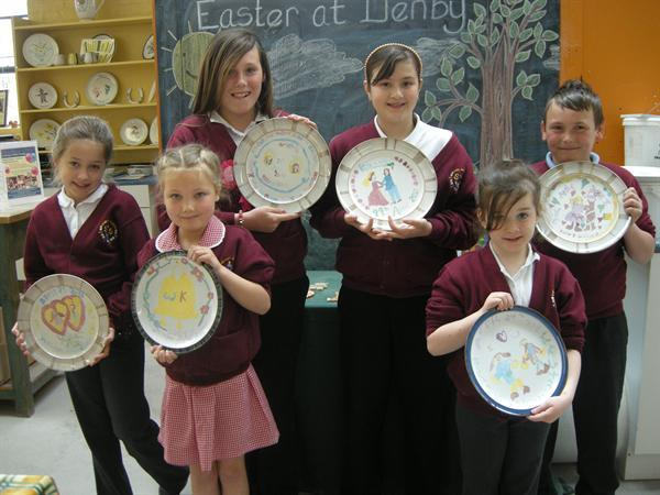 Competition prize - paint a plate at Denby Pottery
