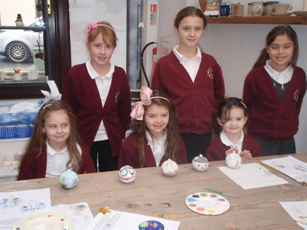 Pottery Competition - paint a bauble prize