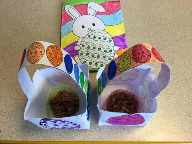 Easter Nest box