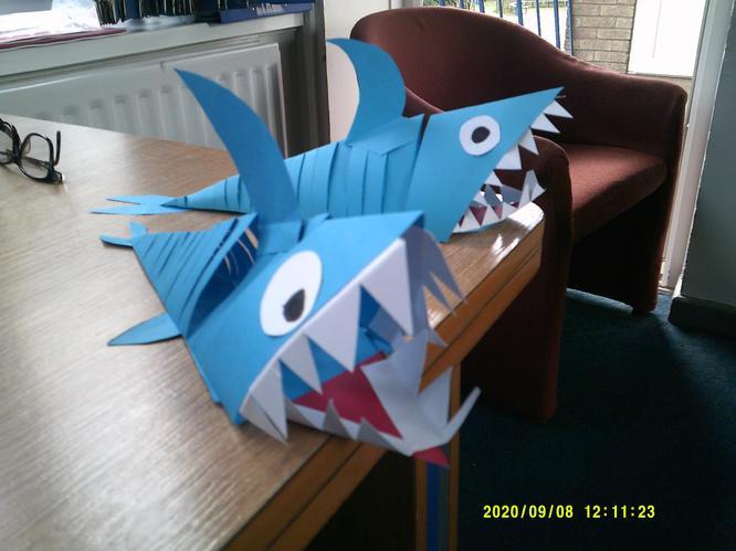 3D Sharks