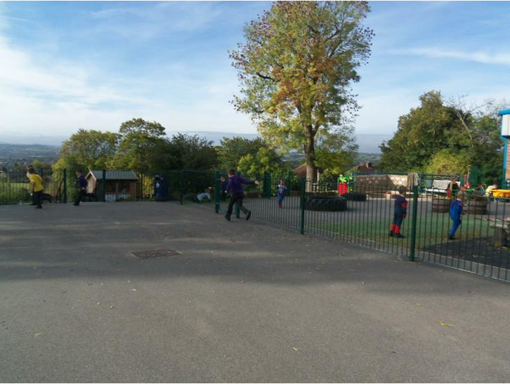 How long will it take to run round the playground?