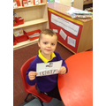 Making words using this weeks sounds.