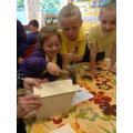 Making bird boxes.