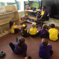 Hot seating Going on a bear hunt .