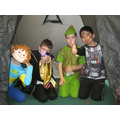 Book day in a tent!