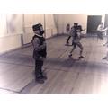 Ninja Fencer prepares to take on his next opponent