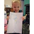 Robert has drawn a bird