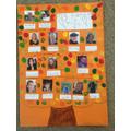 Imogen has made her family tree